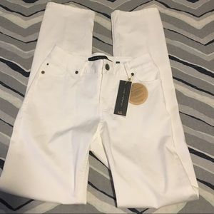 NWT! Christopher Blue white skinny jeans Size 2